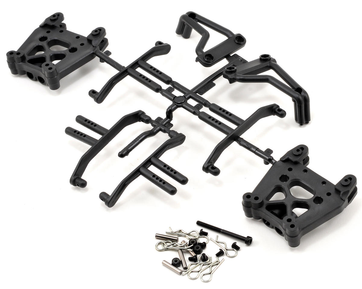 HPI Racing Savage XS Flux Shock Tower & Body Mount Set