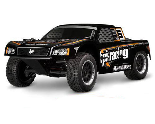 HPI Racing Baja 5SC-1 Pre-Painted 1/5 Scale Short Course Truck Body (Black)