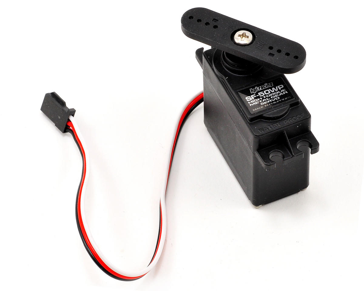 SF-50WP Waterproof Servo by HPI WR8 Flux