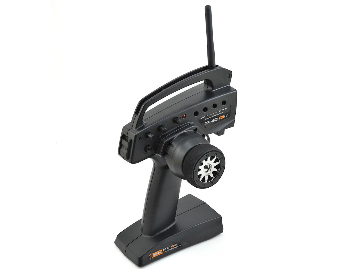 HPI Nitro 3 Evo + TF-40 2.4GHz FHSS 3-Channel Transmitter (Transmitter Only)