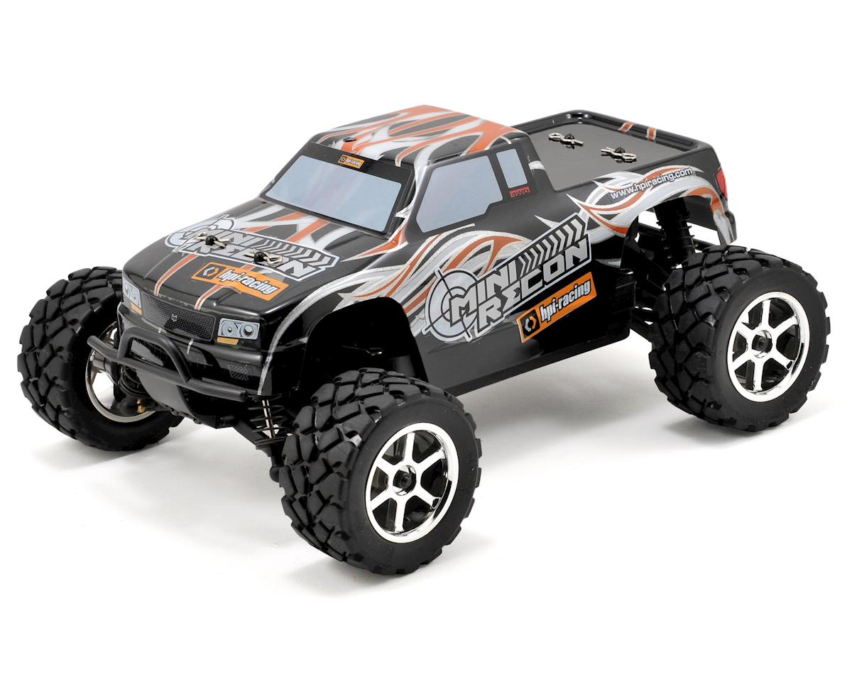 HPI Mini Recon RTR 4WD Electric 1/18 Scale Monster Truck w/2.4GHz Radio