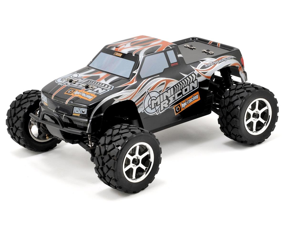 HPI Racing Mini Recon RTR 4WD Electric 1/18 Scale Monster Truck w/2.4GHz Radio