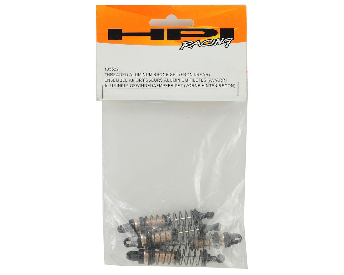 HPI Mini Recon Threaded Aluminum Shock Set (4)