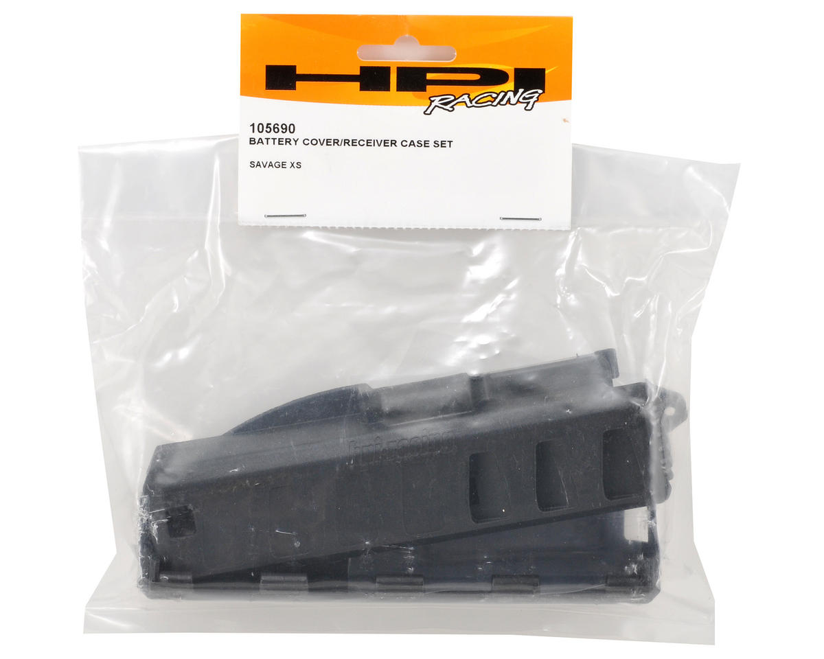 HPI Racing Battery Cover & Receiver Case Set