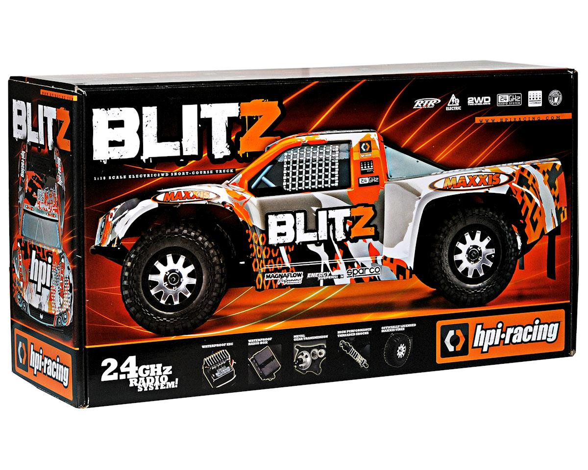 HPI Racing Blitz 1/10 Scale RTR Electric 2WD Short-Course Truck w/2.4GHz