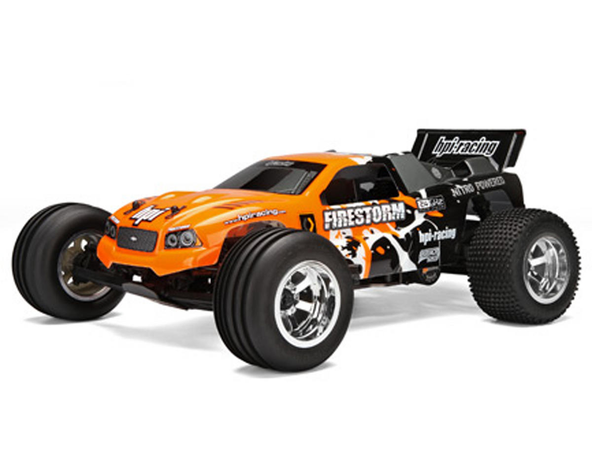 HPI Racing Nitro Firestorm 10T RTR 1/10 Scale 2WD Nitro Stadium Truck w/2.4GHz Radio