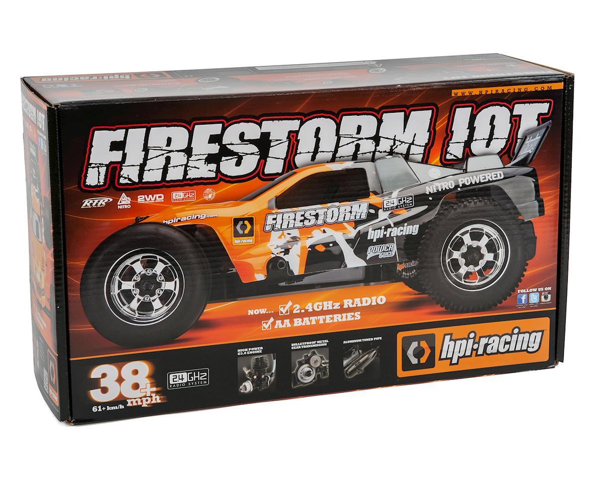 HPI Nitro Firestorm 10T 3.0 RTR 1/10 2WD Nitro Stadium Truck