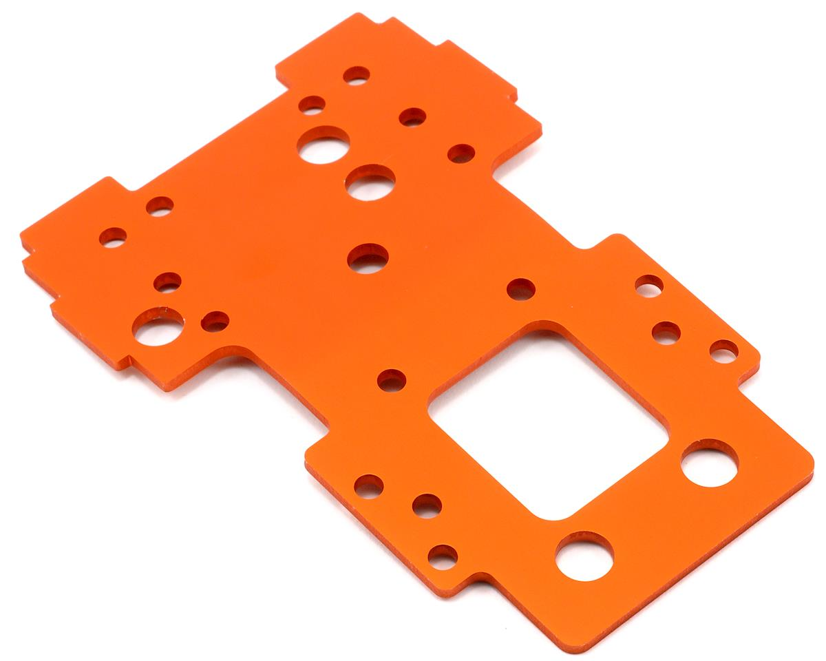 2.5mm Bulkhead Lower Plate (Orange) by HPI