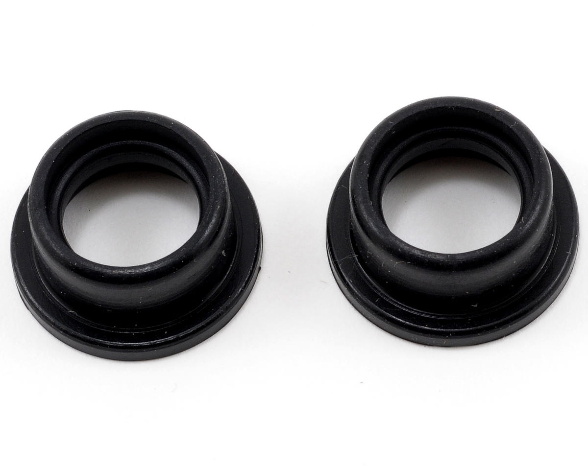 Shaped Exhaust Gasket Set (Black) (2) by HPI Racing