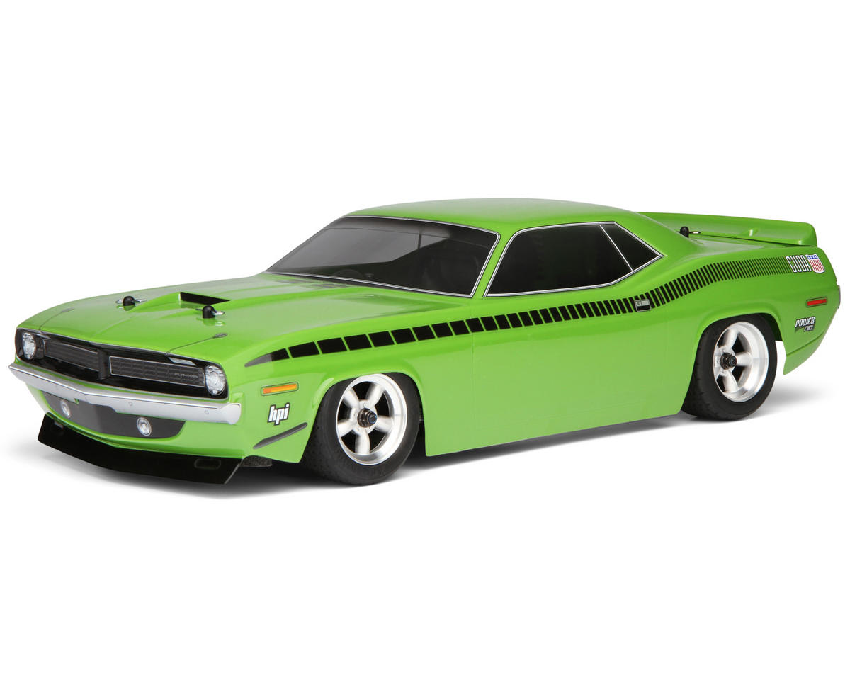 HPI Racing Nitro RS4 3 EVO+ RTR w/Plymouth AAR Cuda Body & 2.4GHz Radio