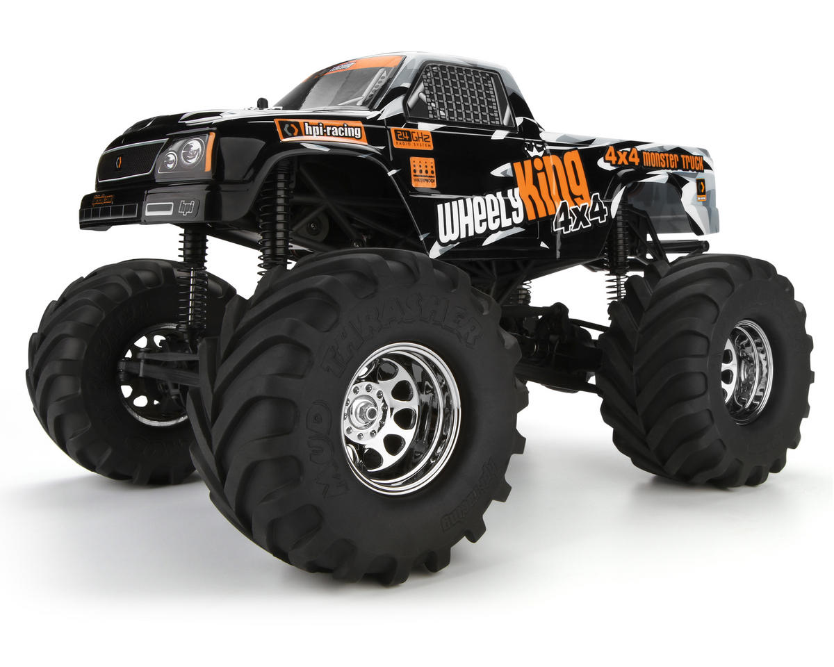 Wheely King 4WD RTR Monster Truck