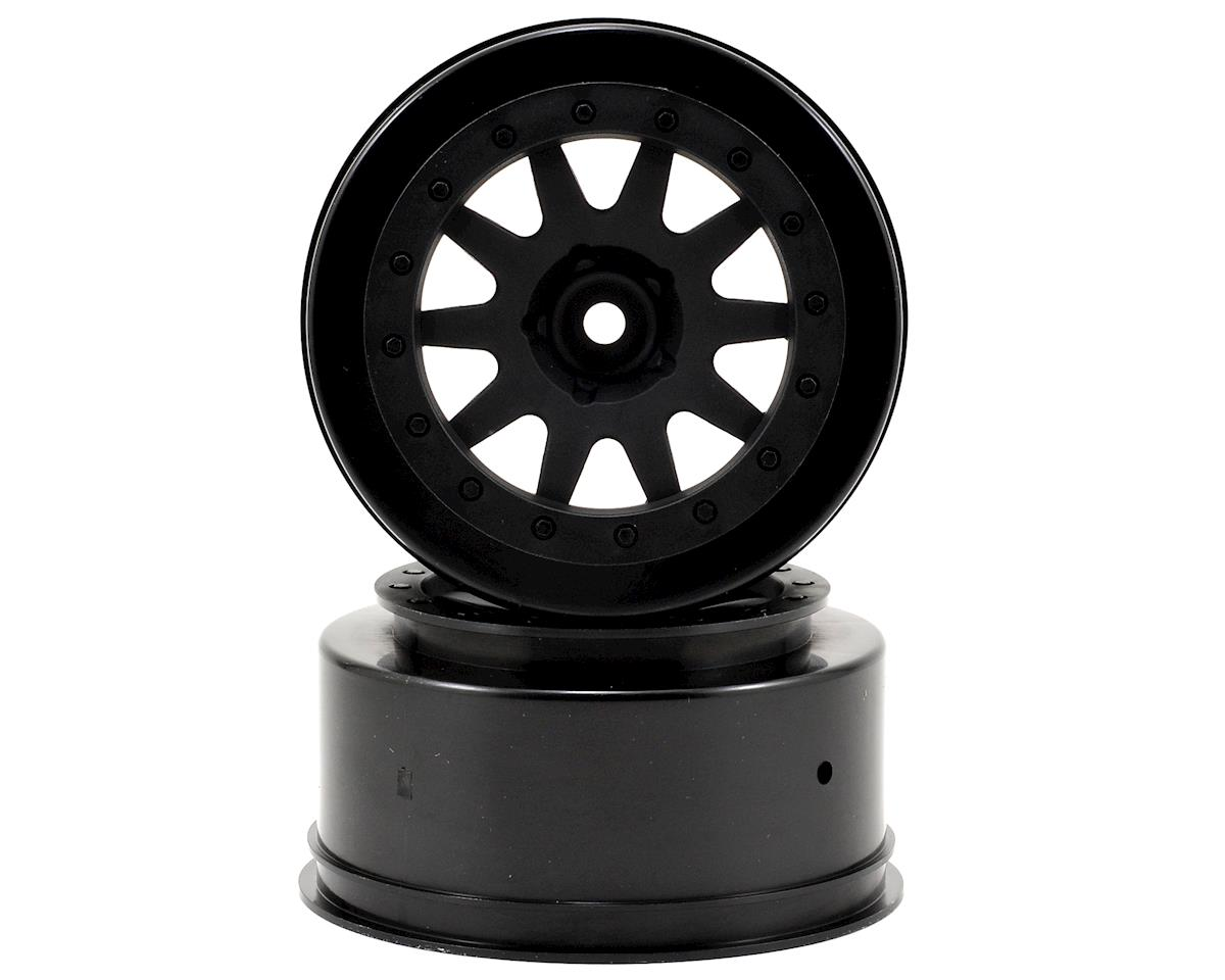 HPI 12mm Hex MK.10 V2 Short Course Wheels w/4.5mm Offset (Black) (2)