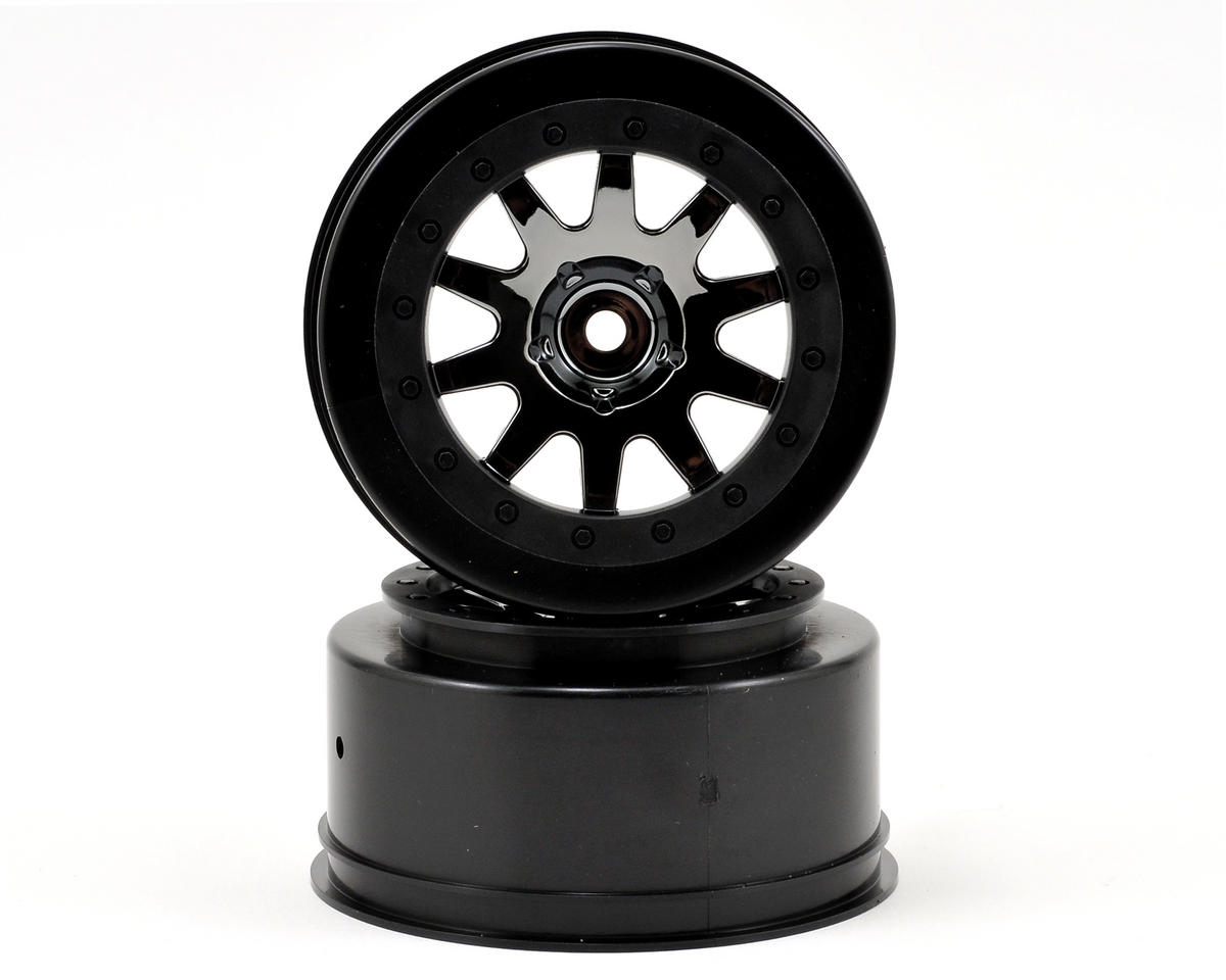 HPI Racing 12mm Hex MK.10 V2 Short Course Wheels (Black Chrome) (2)