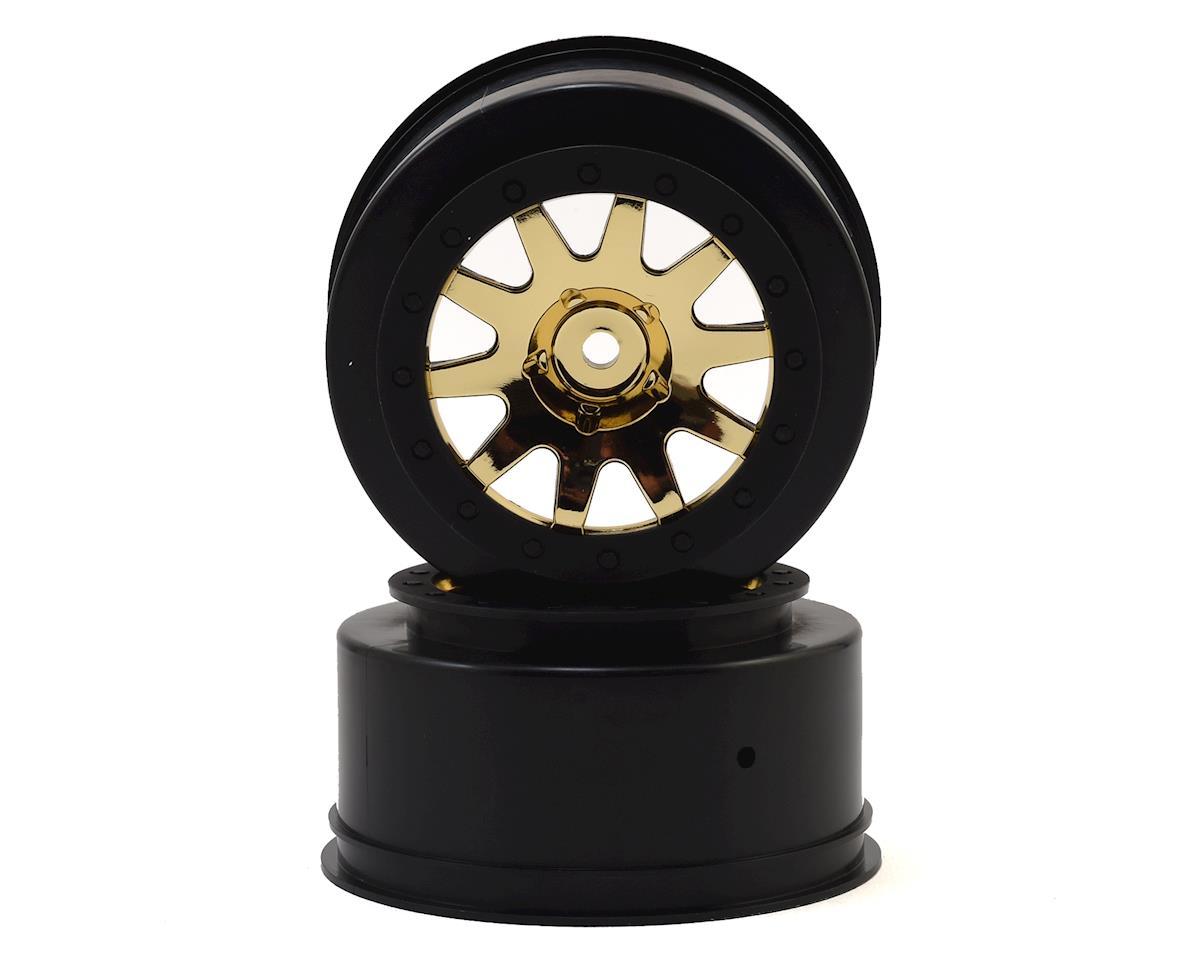 HPI 12mm Hex Mk.10 V2 1/10 Short Course Truck Wheel (Gold) (2) (4.5mm Offset)