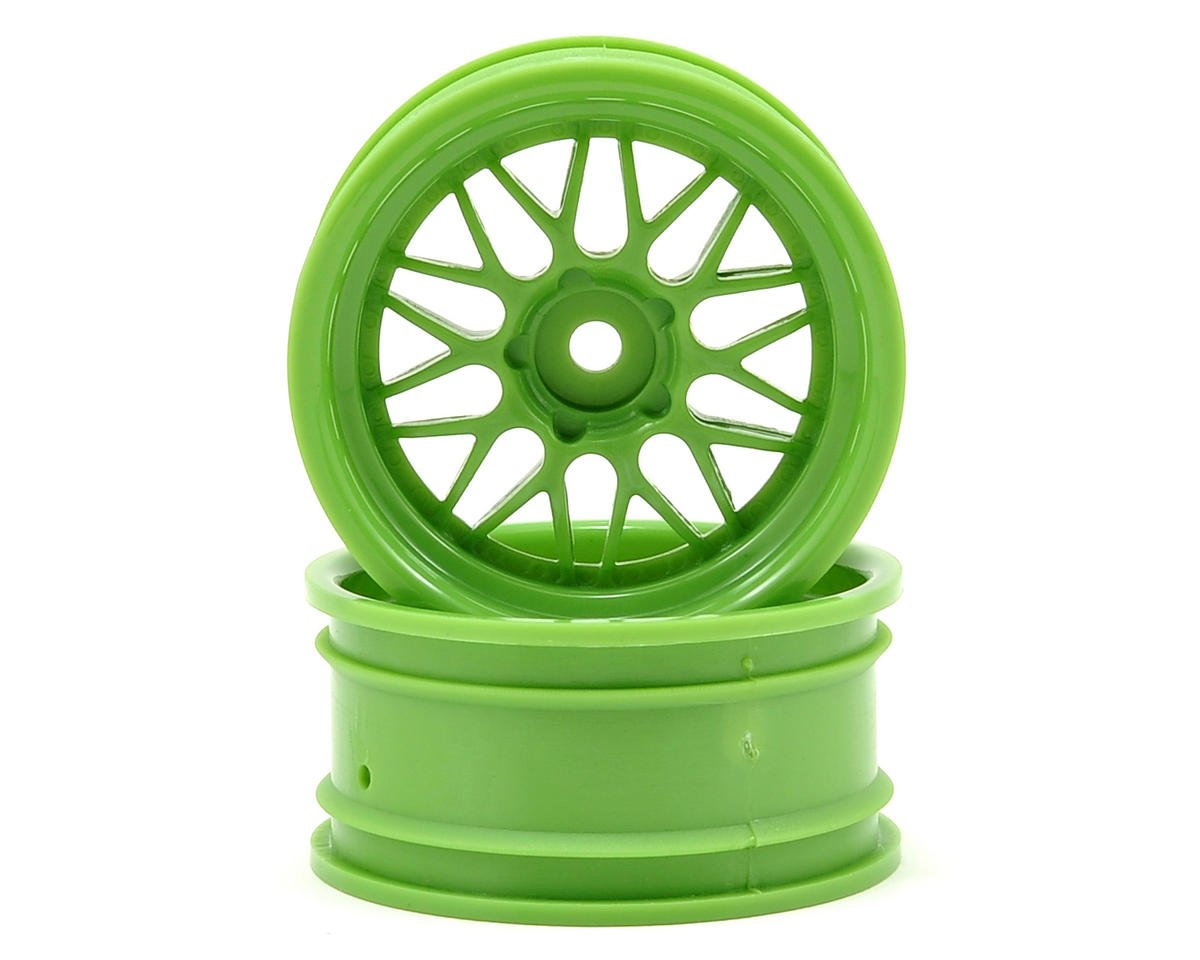 HPI Racing 12mm Hex 26mm HRE C90 Wheel (2) (6mm Offset) (Green)