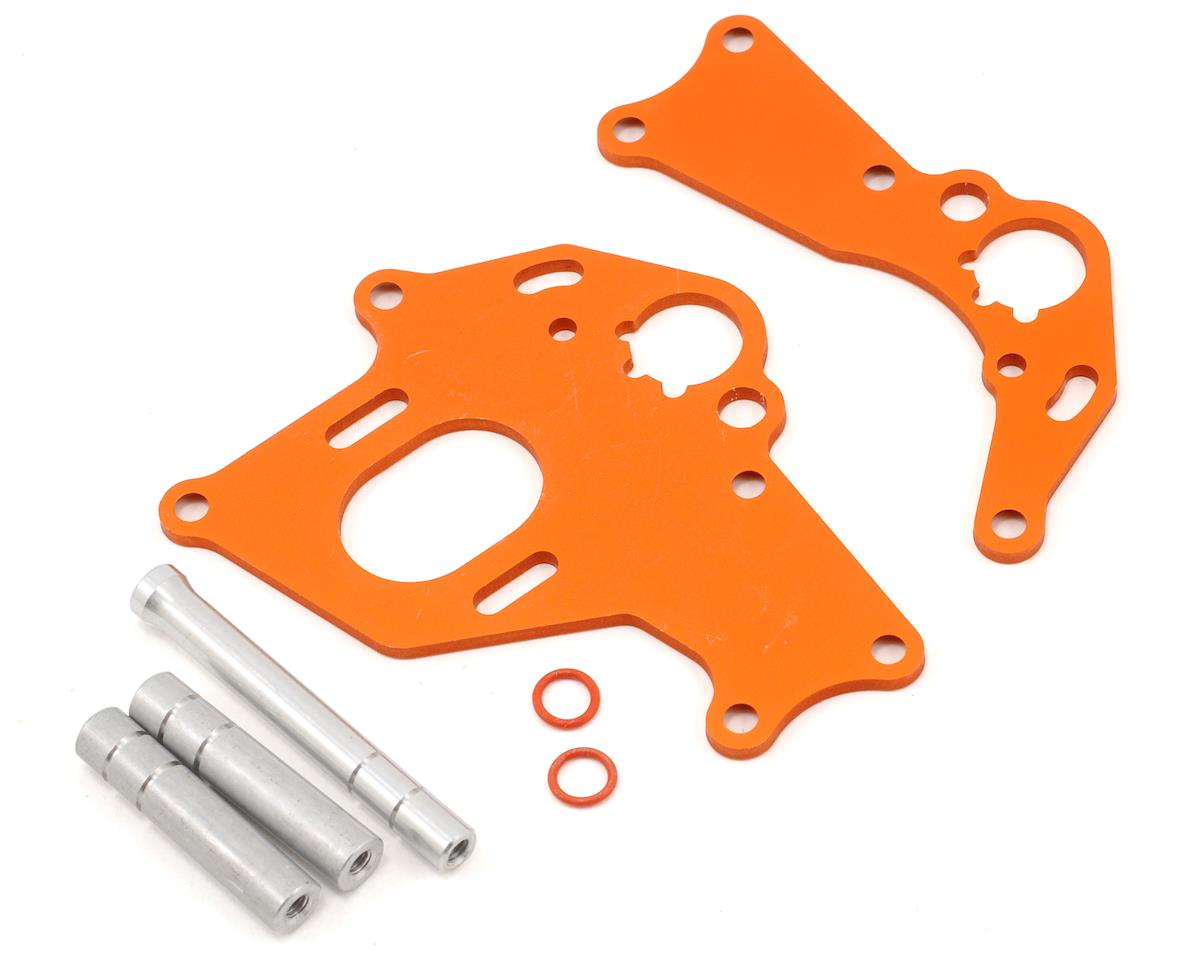HPI Motor Mount Set (Orange)