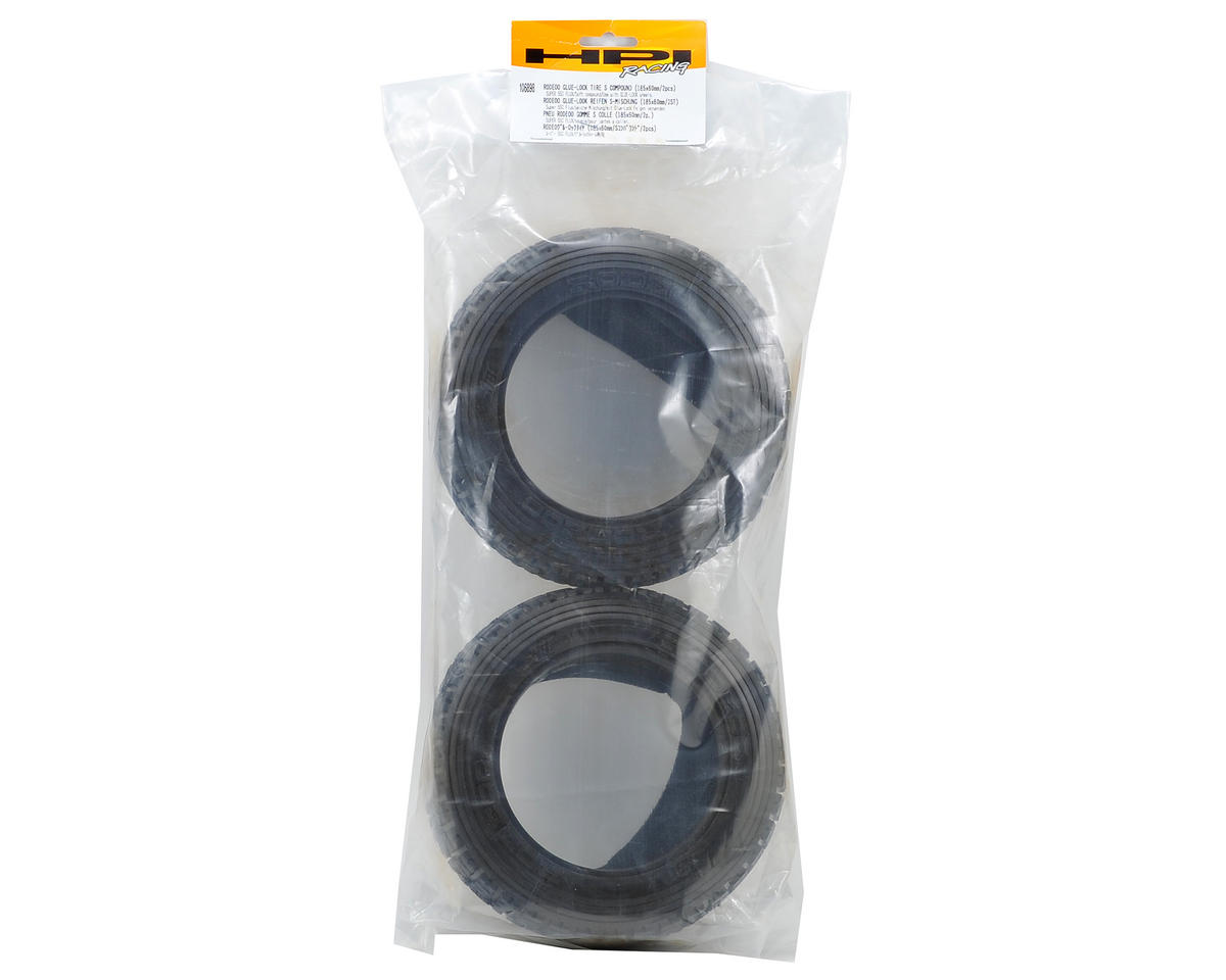HPI Racing Rodeoo Glue-Lock Tire (2) (185x60mm)