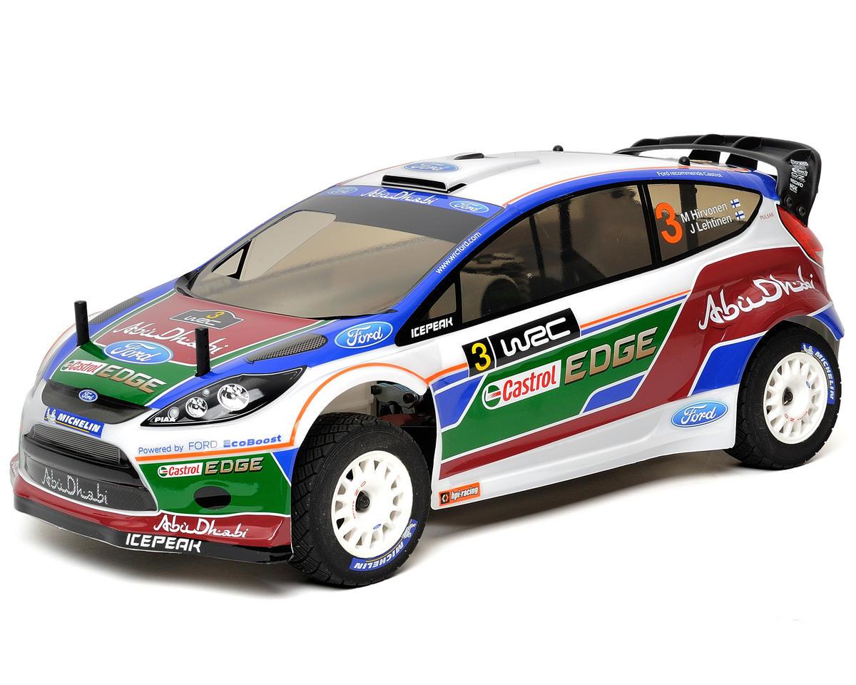 RC Car 1//10  RALLY WRC WHEELS TIRES Package GUN METAL  3MM Assembled