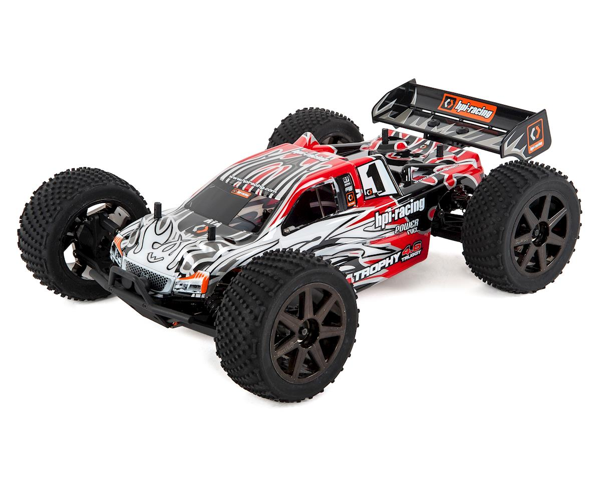 Trophy Truggy 4.6 RTR 1/8 4WD Off-Road Nitro Truggy Kit by HPI