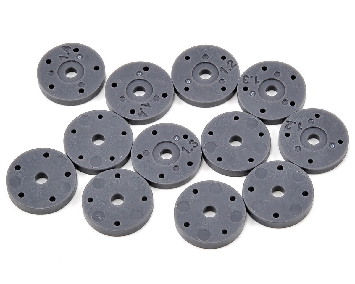 HPI Racing 4 & 5 Hole Shock Piston Set (12) (1.2, 1.3, 1.4)