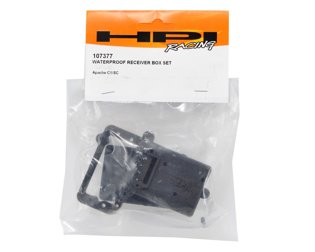 HPI Racing Waterproof Receiver Box Set
