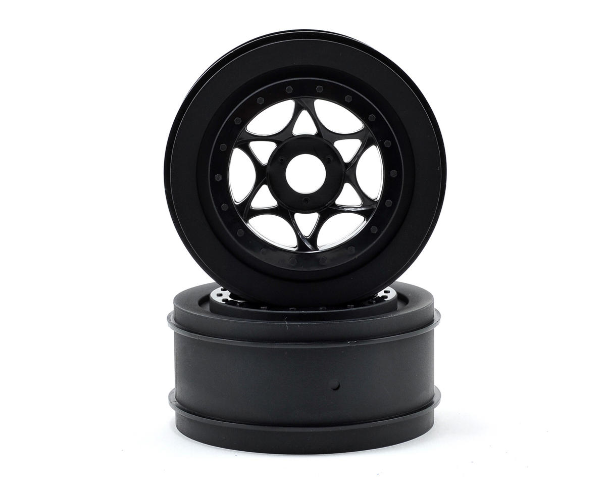 HPI Racing 17mm Hex AH-64 Wheels (Black) (2) (42x83mm)