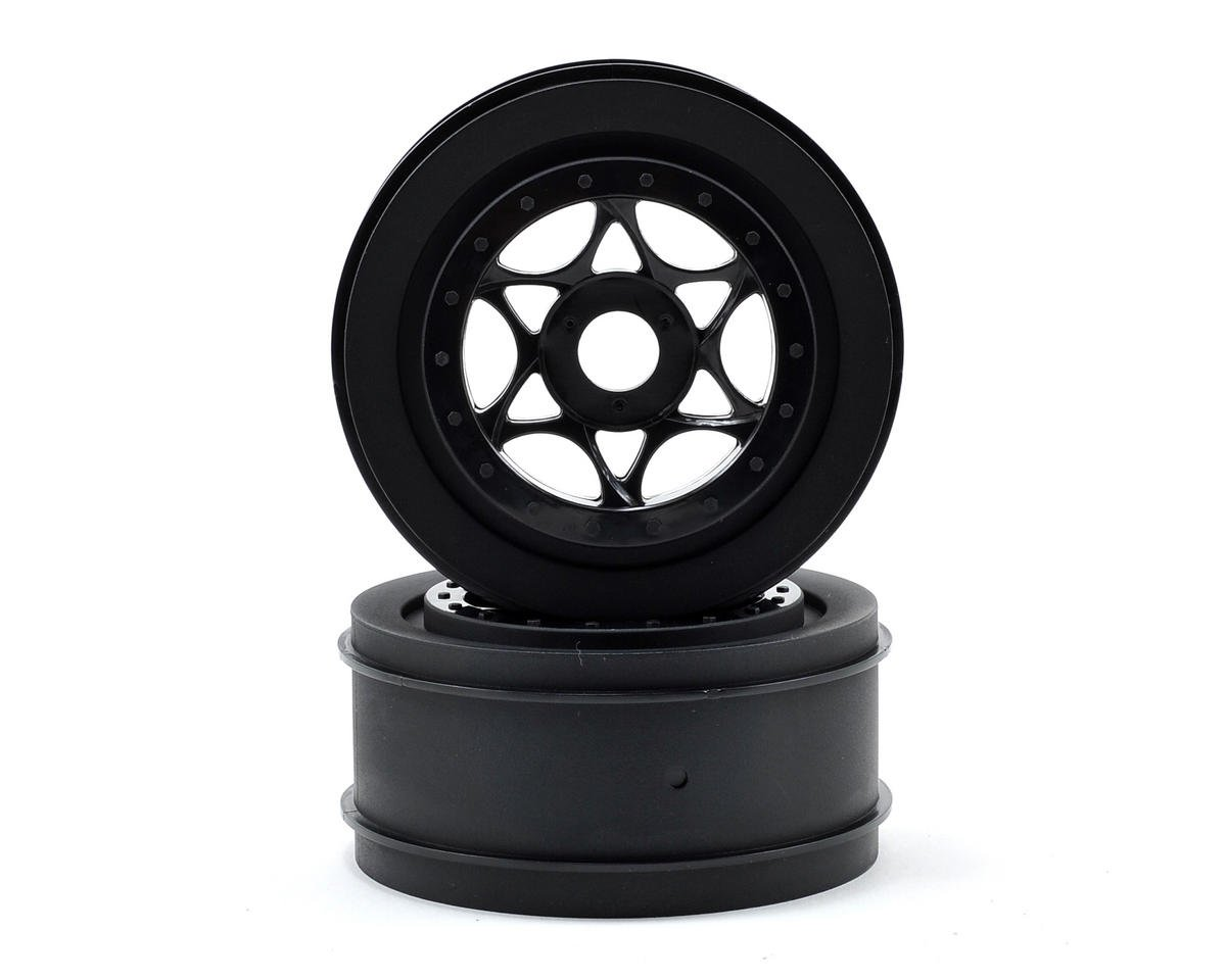 HPI Racing Apache C1 17mm Hex AH-64 Wheels (Black) (2) (42x83mm)