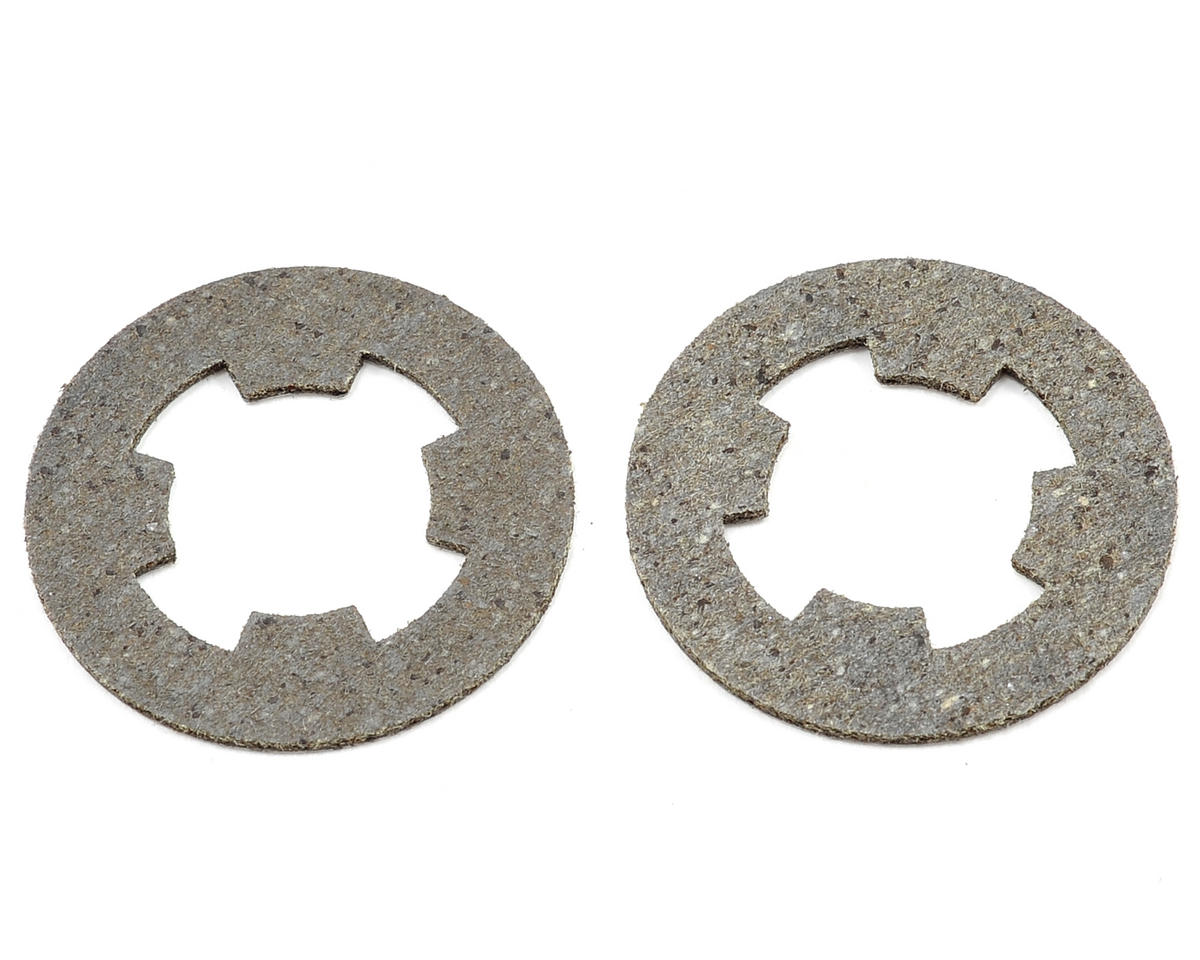 HPI Racing RS4 MT Heavy Duty Ceramic Slipper Clutch Pad Set (2)