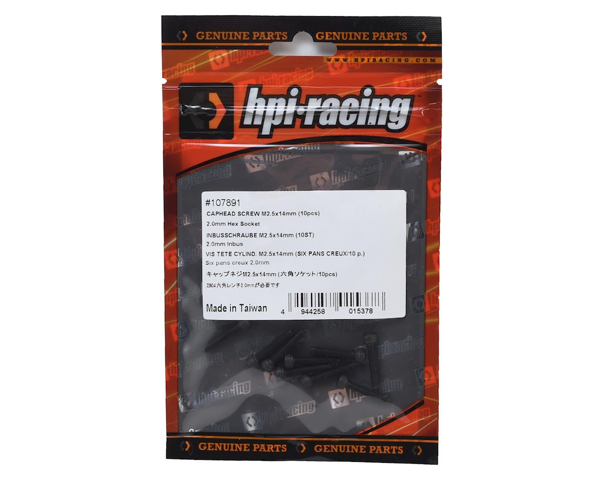 HPI Racing 2.5x14mm Cap Head Screw (10)