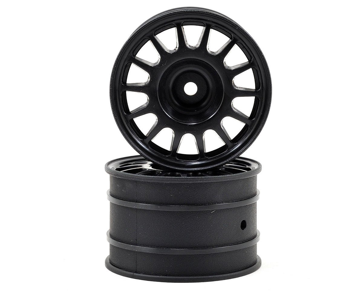 HPI Racing WR8 48x33mm Rally Off-Road Wheel Set (Black) (2)