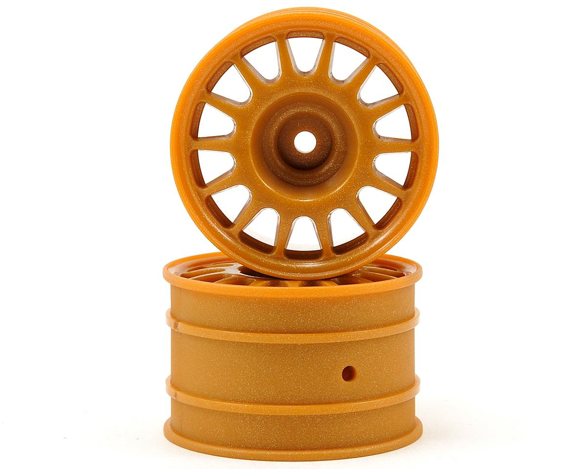 HPI Racing WR8 48x33mm Rally Off-Road Wheel Set (Bronze) (2)