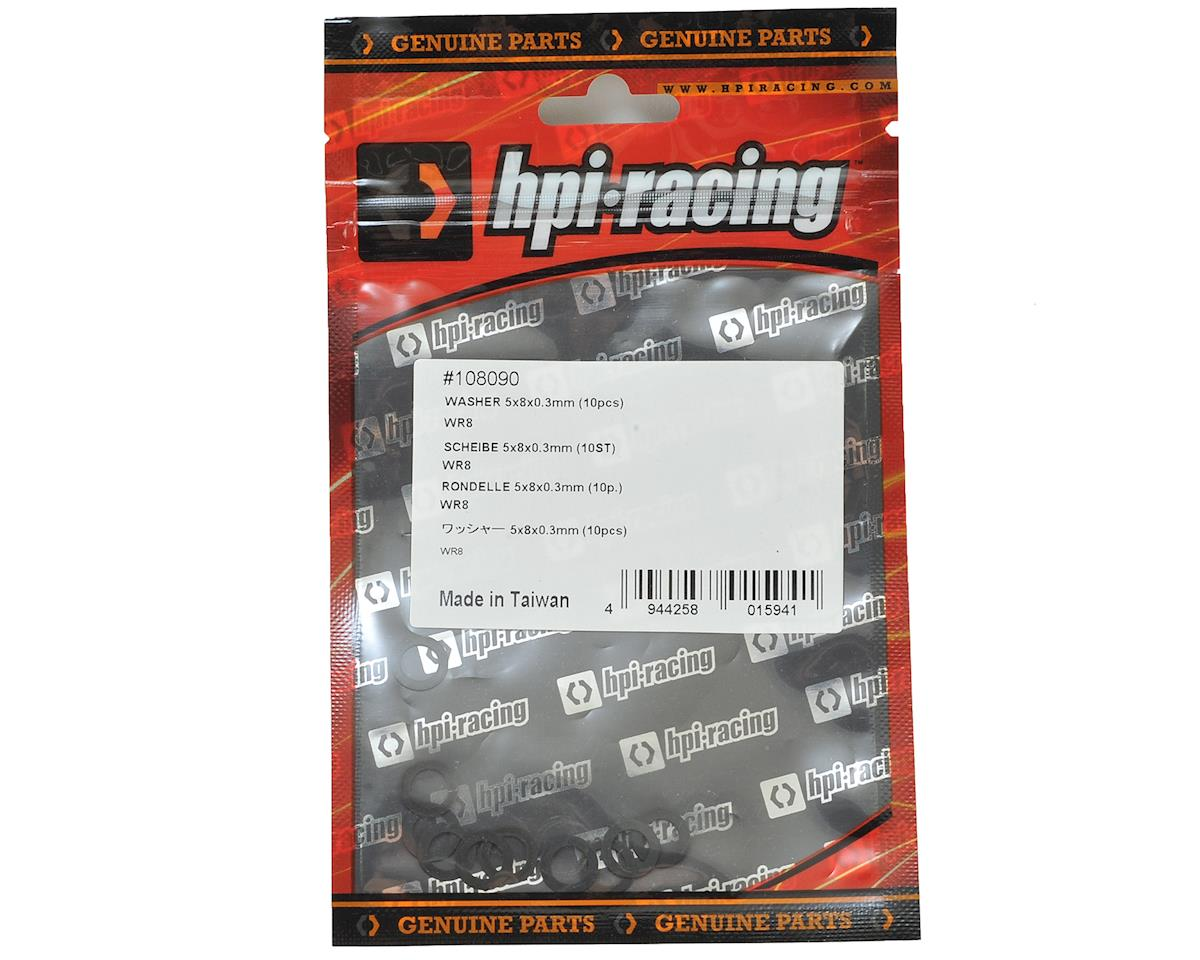 HPI 5x8x0.3mm Washer (10)