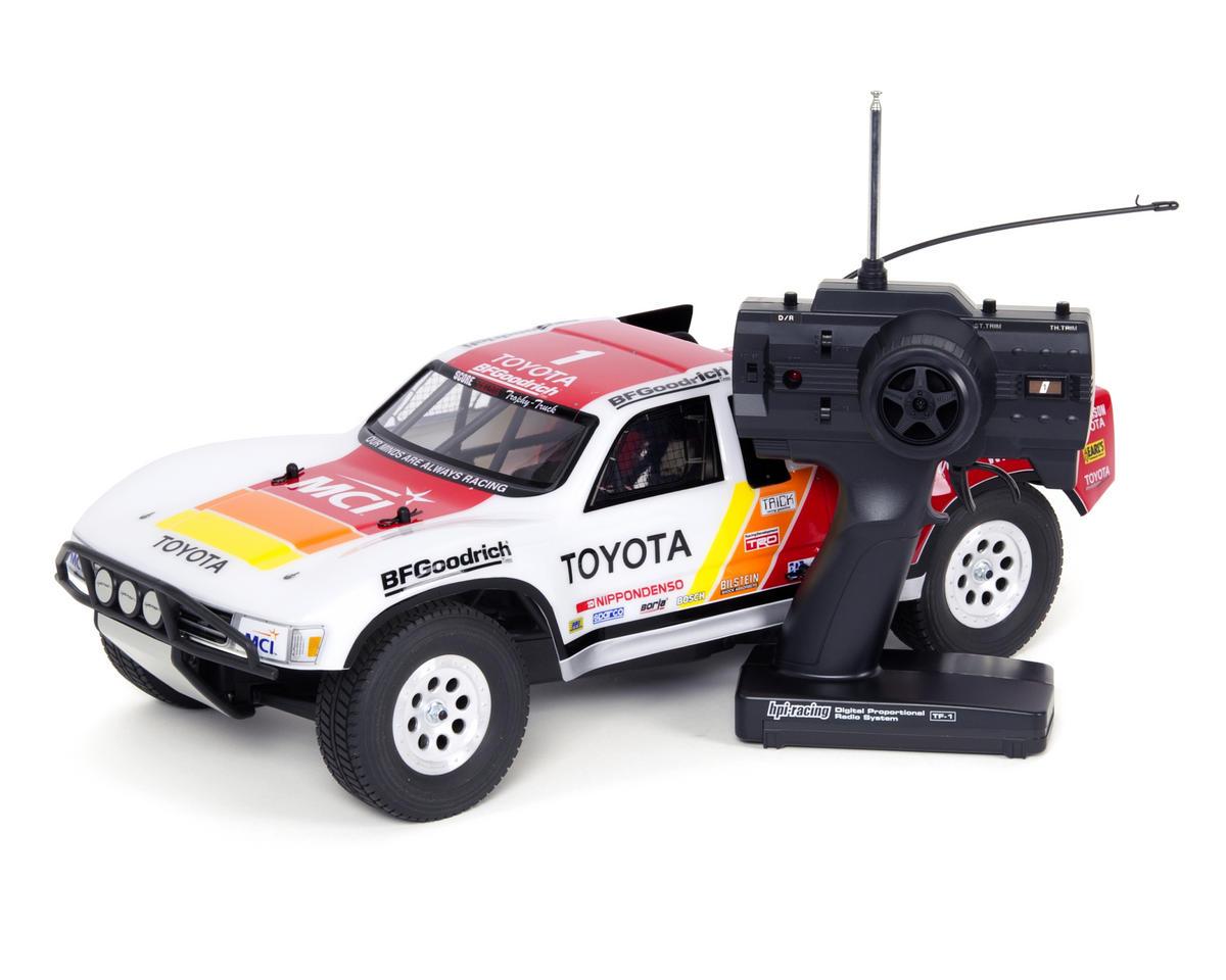 Mini Trophy Truck >> Hpi Mini Trophy 1 12 Scale Rtr Electric 4wd Desert Truck W Ivan Stewart Body