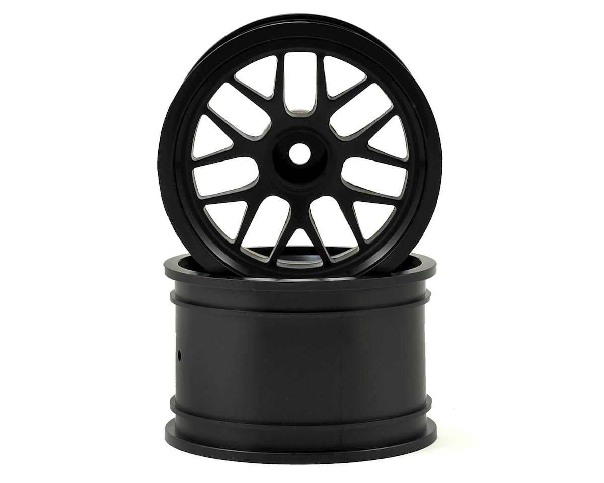 BBS 48x34mm Spoke Wheel (Black) (2) (14mm Offset) by HPI