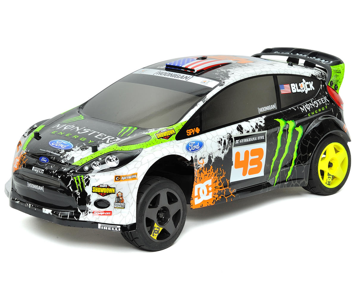 HPI Racing Ken Block WR8 Flux Ford Fiesta 1/8 WRC RTR Electric Rally Car w/2.4GH