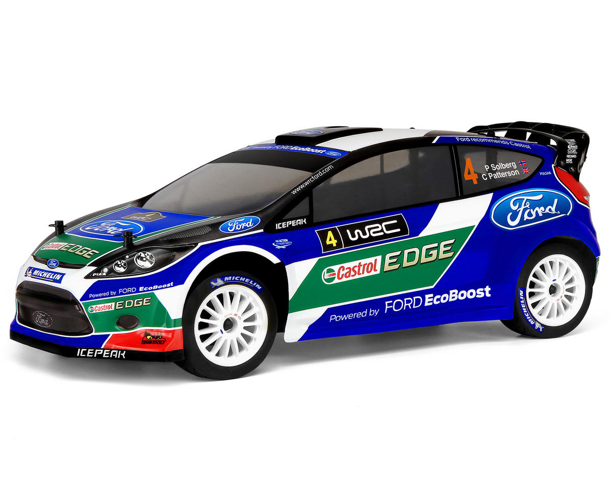 HPI Racing WR8 Flux 2012 Fiesta RS Ford World Rally Team 1/8 WRC RTR Rally Car w