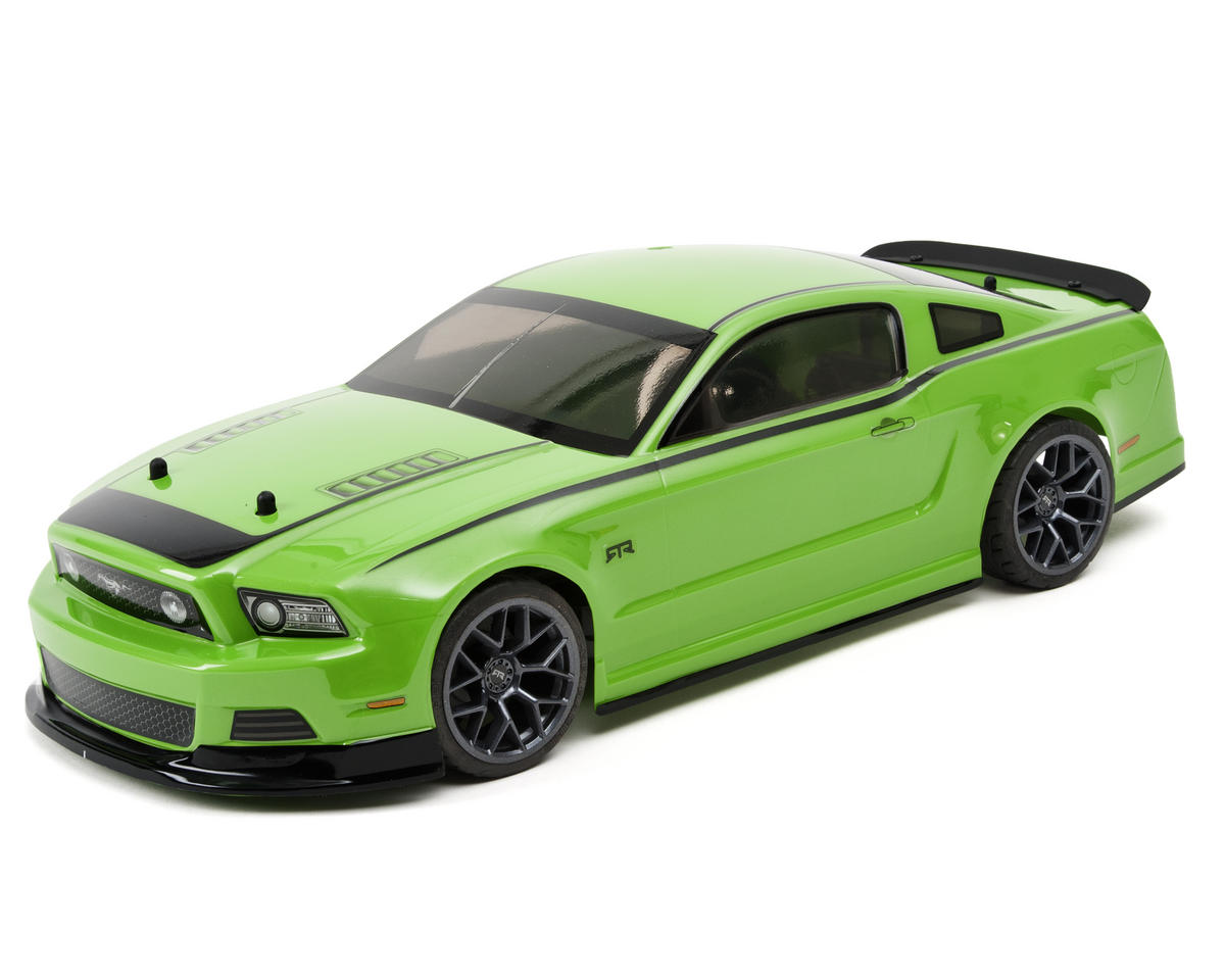 HPI E10 Touring Gittin Jr 2014 Mustang Body (Green)