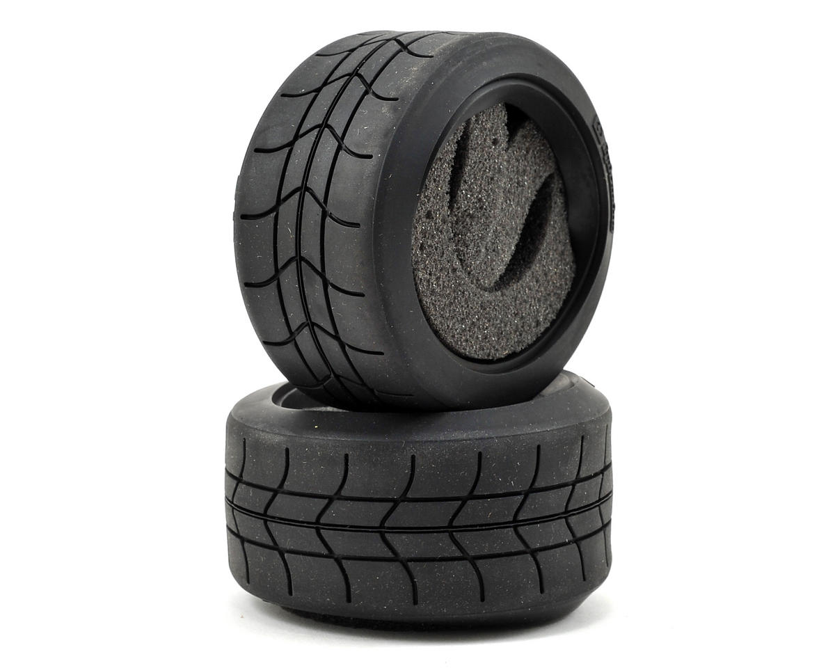 "WR8 2.2"" Gymkhana Tires (D Compound) (2) (57x80mm) by HPI"