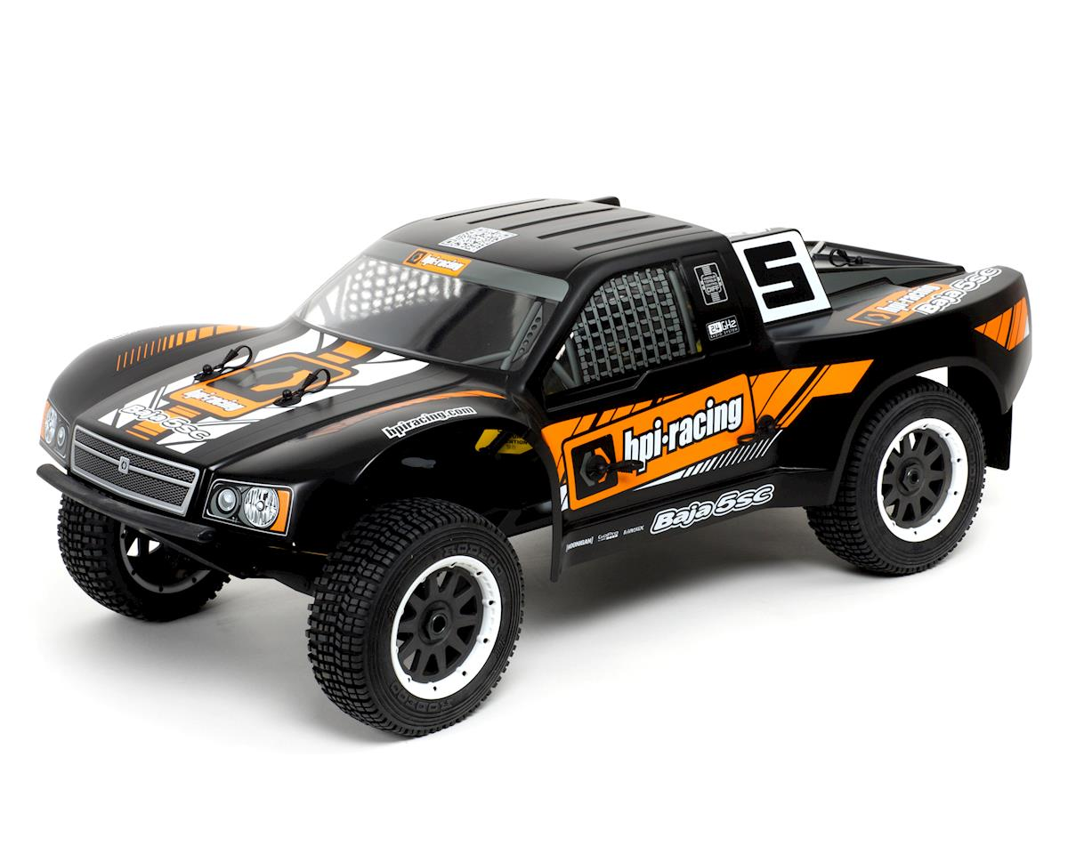 HPI Racing Baja 5SC 1/5 Scale RTR Short Course Truck (Black)