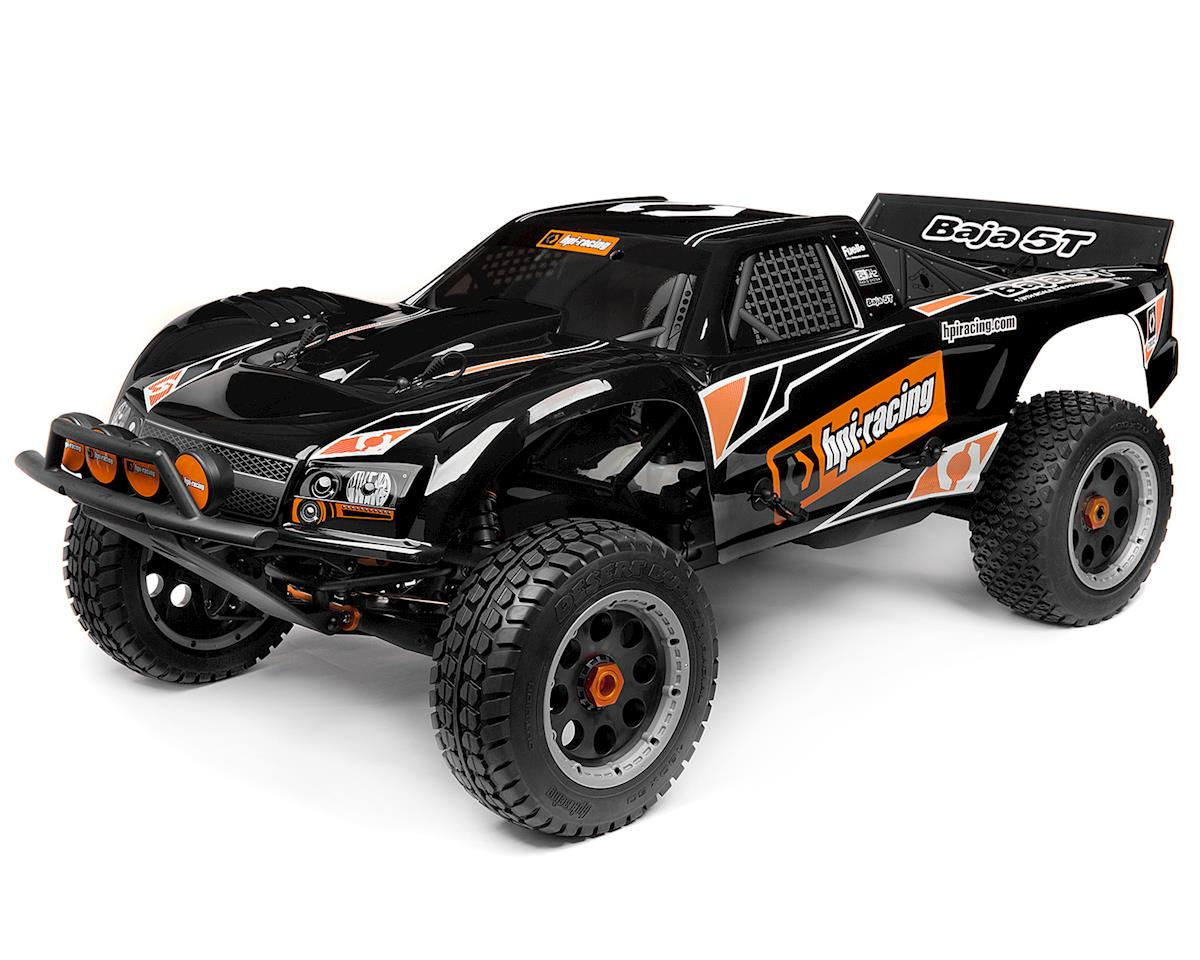 Baja 5T 1/5 RTR 2WD Gasoline Truck w/2.4GHz Radio & 26cc Engine by HPI