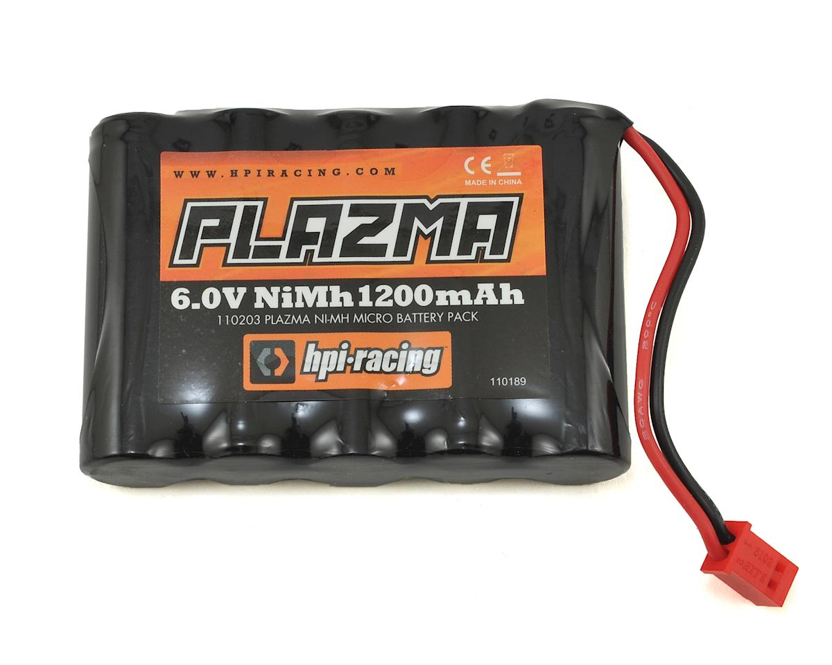 HPI Micro RS4 Plazma 5-Cell NiMH Battery Pack (6V/1200mAh)