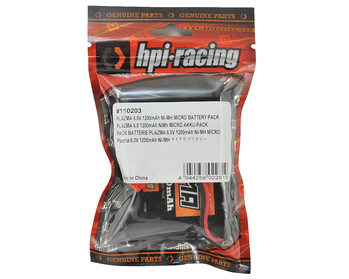 HPI Plazma 5-Cell NiMH Battery Pack (6V/1200mAh)