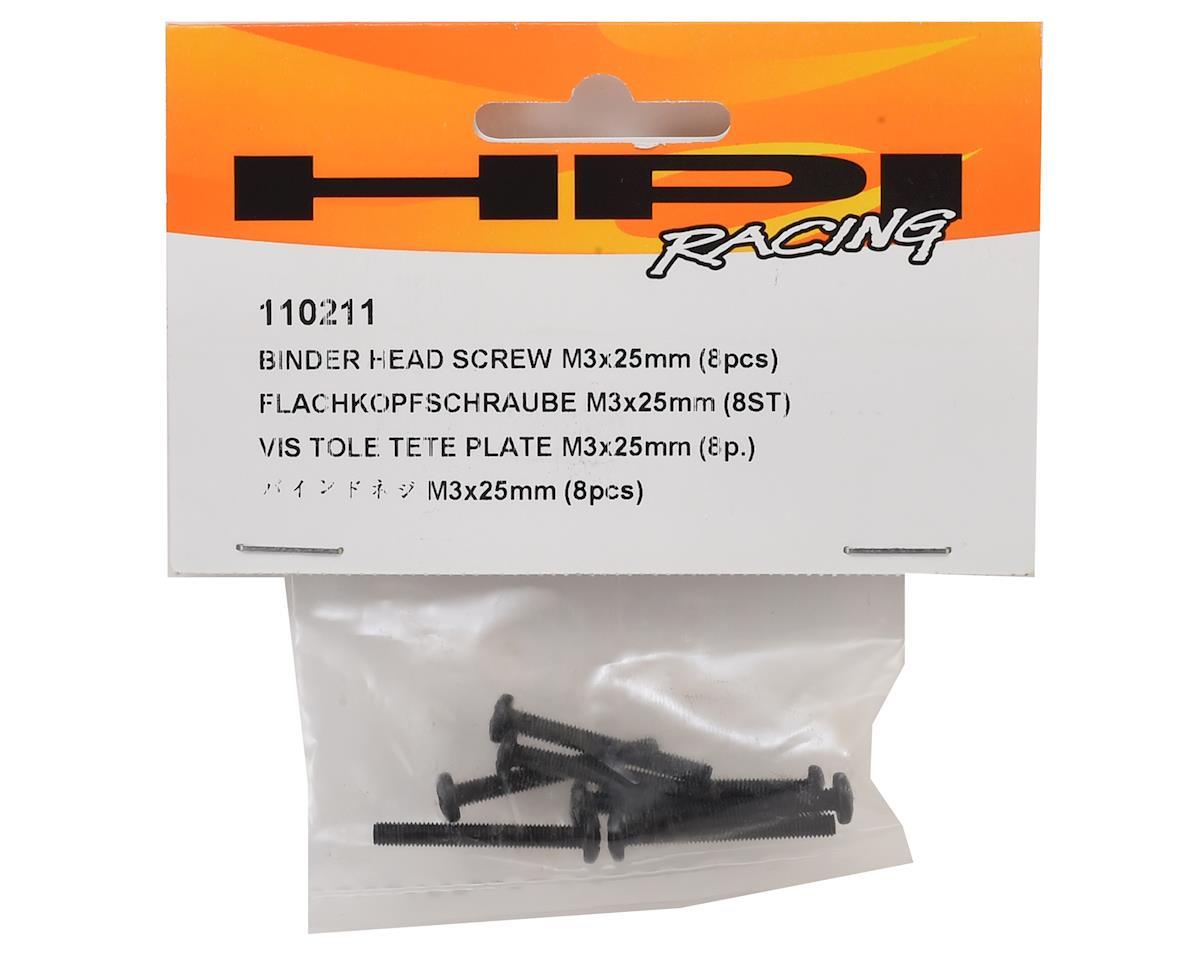 HPI 3x25mm Binder Button Head Phillips Screw (8)