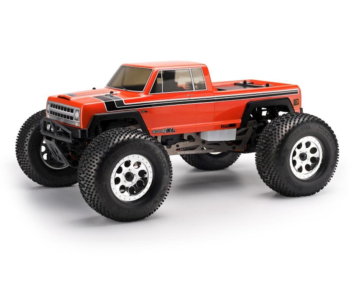 HPI Savage XL GTXL-1 Vintage 1/8 Monster Truck Body (Clear)
