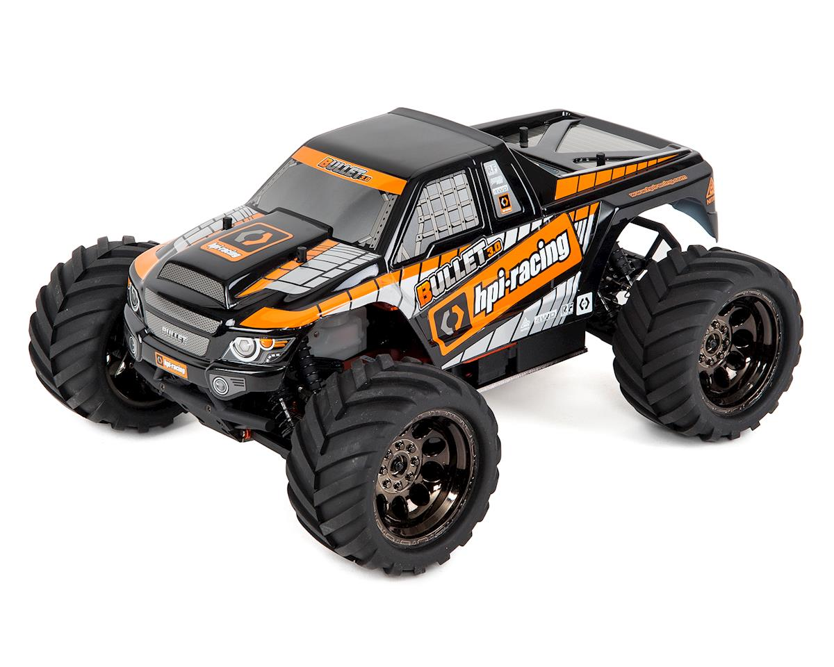 Bullet MT 3.0 RTR 1/10 Scale 4WD Nitro Monster Truck by HPI