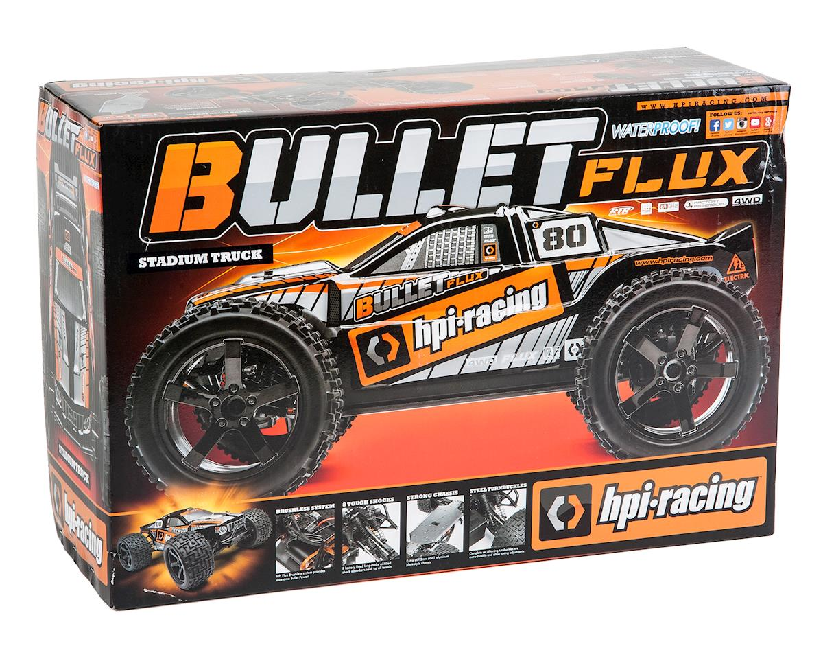 HPI Racing Bullet ST Flux RTR 1/10 Scale 4WD Electric Stadium Truck