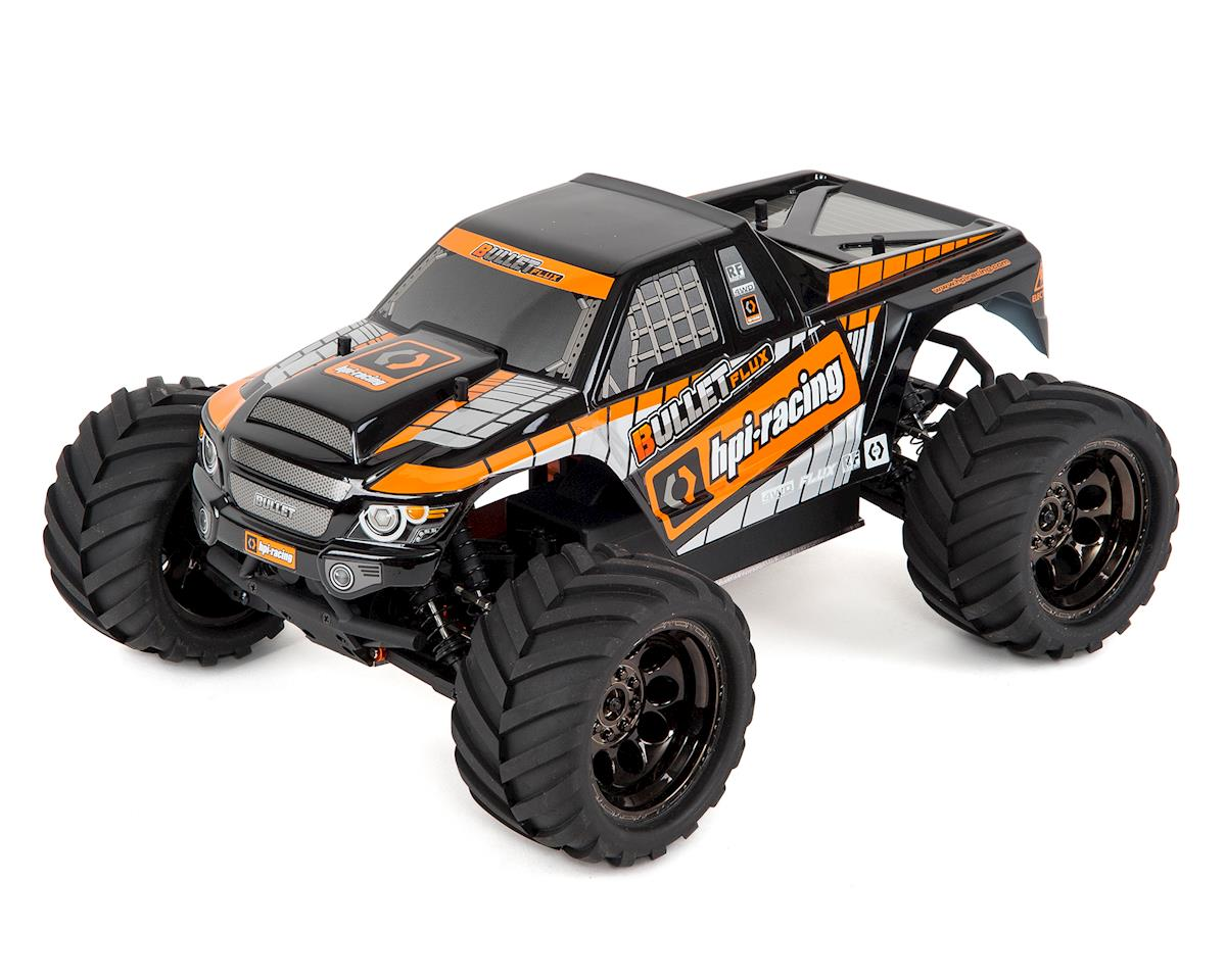 Bullet MT Flux RTR 1/10 Scale 4WD Electric Monster Truck by HPI Racing