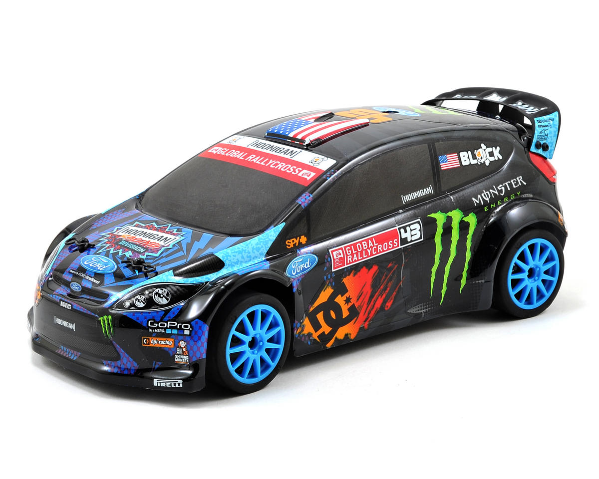 HPI Racing Ken Block 2013 GRC Micro RS4 Ford Fiesta RTR w/2.4GHz Radio, Batteries & Charger