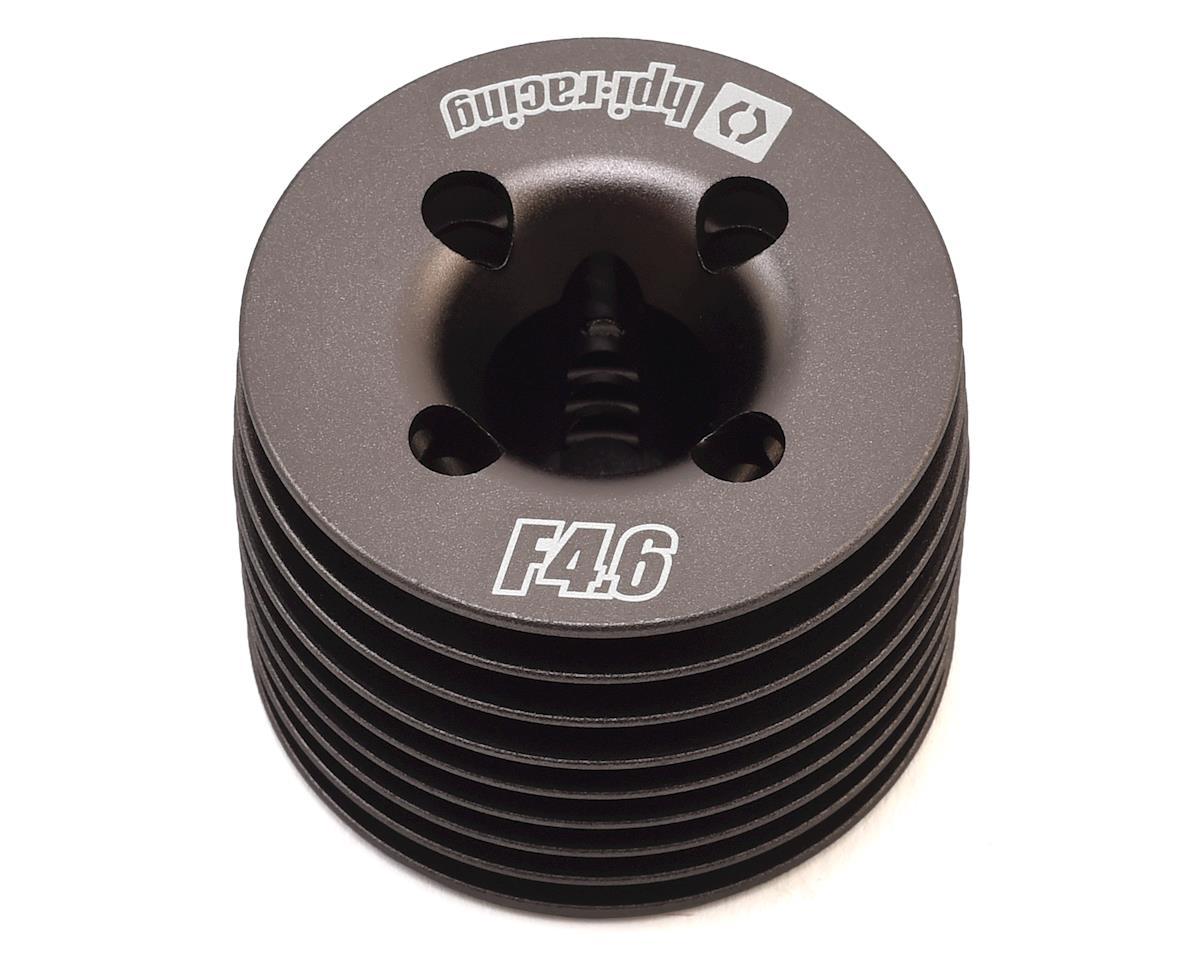 HPI Aluminum Racing F4.6 V2 Heatsink Cooling Head (Gunmetal)