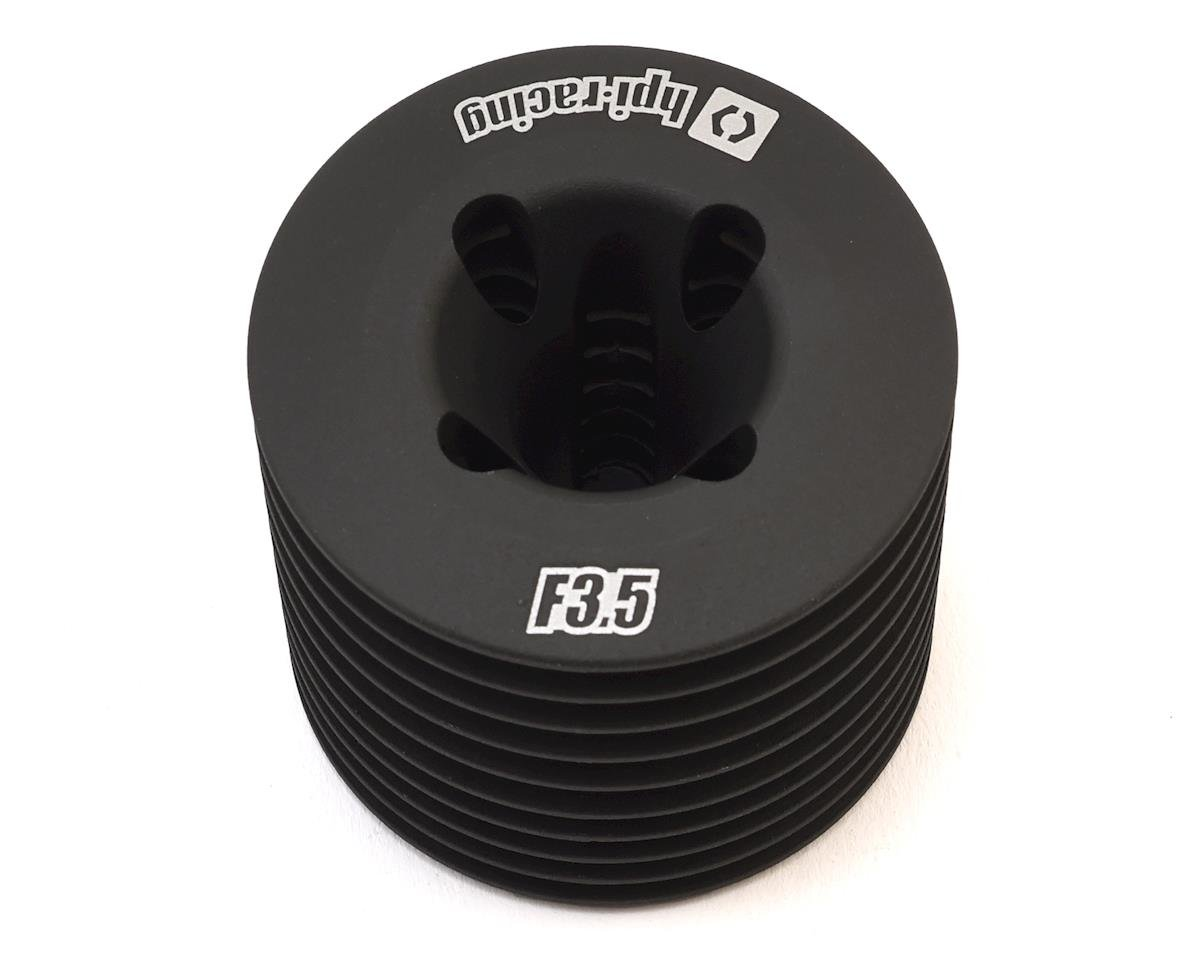 HPI Aluminum F3.5 V2 Heatsink Cooling Head (Black)
